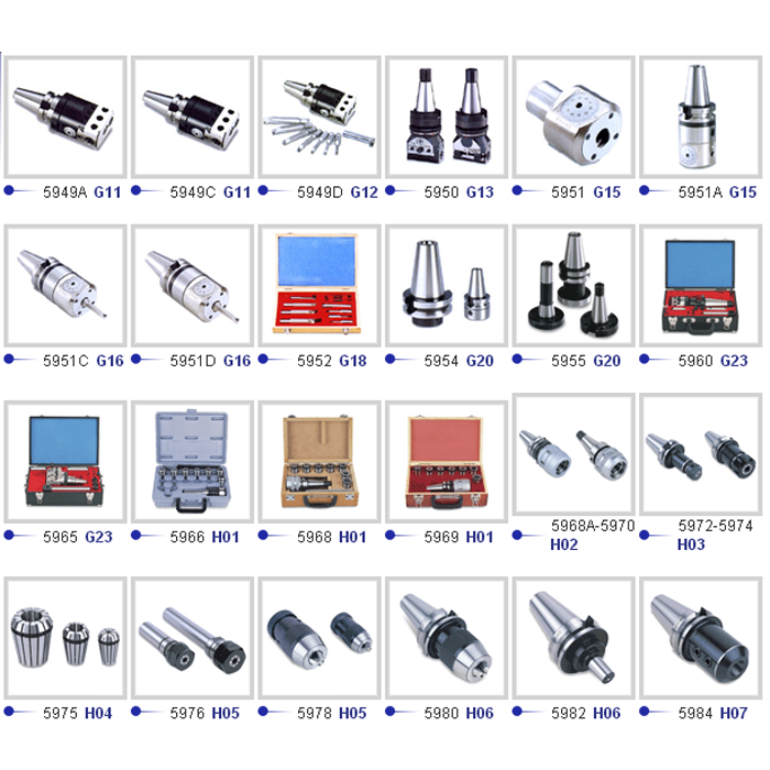 Milling Machine Accessories-銑床配件