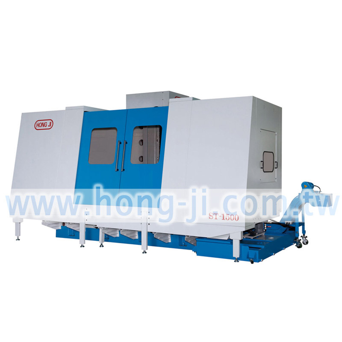 Bed Type Deep Hole Drilling Machine-CNC ST-1500