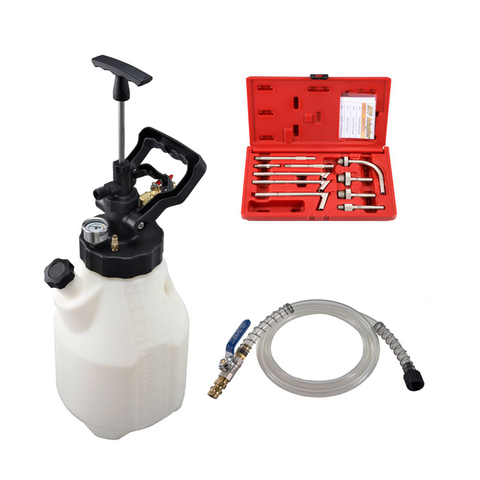 12.5L AIR/MANUAL FLUID REFILLING SET-647-1580-FR