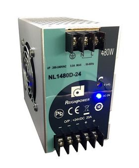 Price Competitive NL Series Din Rail Power-NL1480D-24