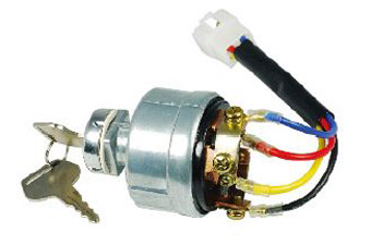 6 Terminals Ignition Switch
