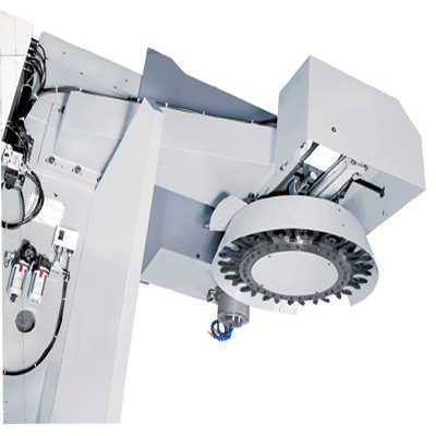 Bed type CNC mill