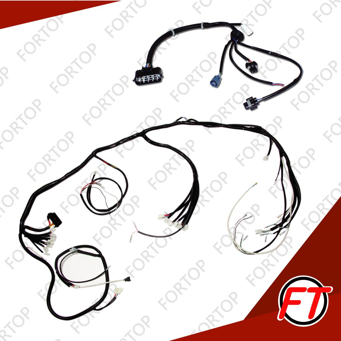 Wiring Harness For Vehicle Main Body Fortop Industrial Co Ltd Clipart