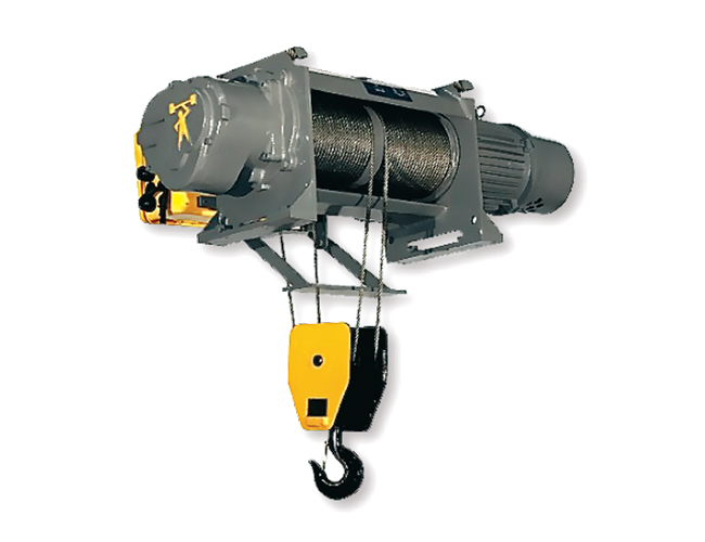 60HZ Electric Foot-Mounted Wire rope hoist
