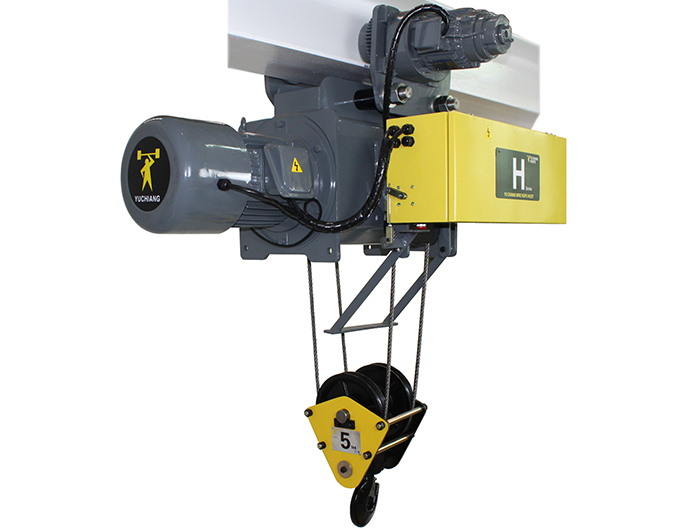 60HZ Monorail Electric Wire Rope Hoist - Dual Speed