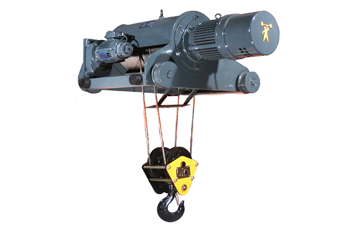 60HZ Double-Rail Wire Rope Hoist -Single Speed