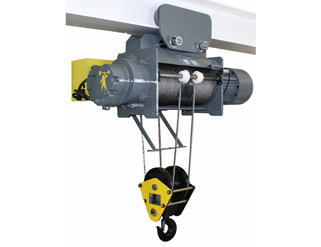 60HZ Monorail Electric Wire Rope Hoist - Single Speed