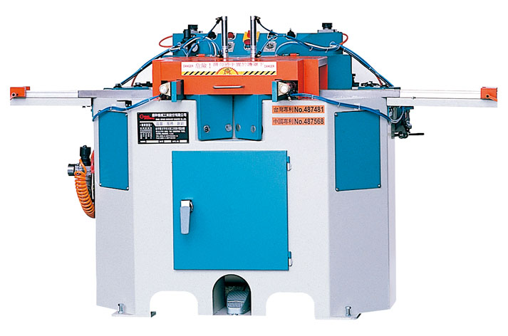 45 degree Double Blade Angle Sawing Machine(Horizontal type)-C-140-2AS2