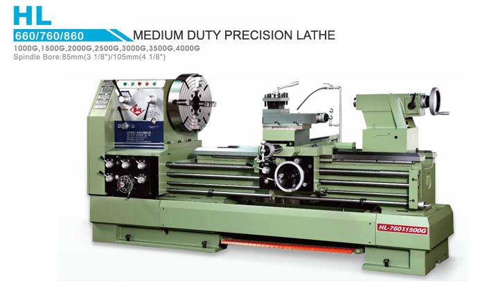 Medium Duty Precision Lathe