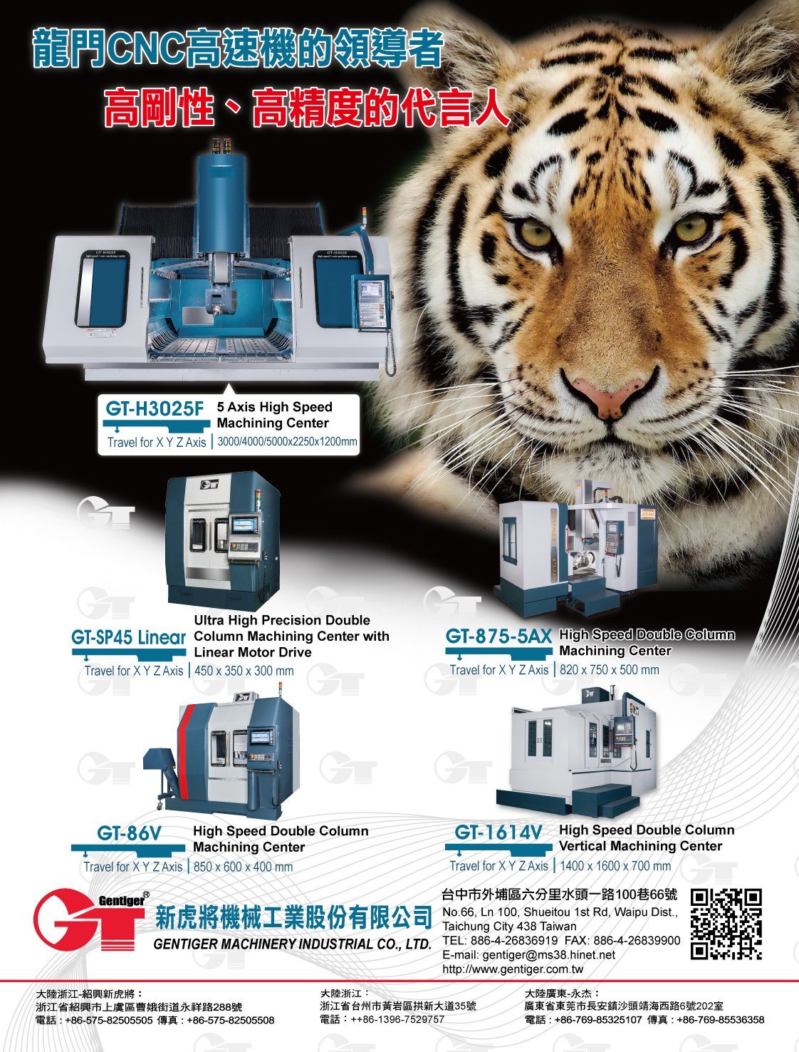 GENTIGER MACHINERY INDUSTRIAL CO., LTD.