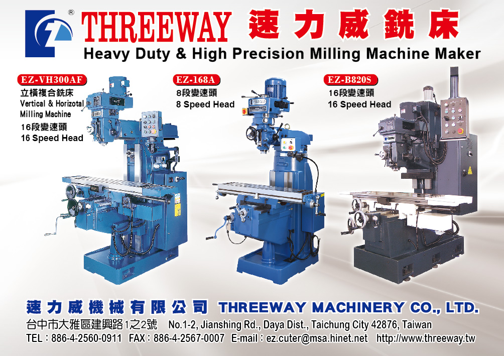 THREEWAY MACHINERY CO., LTD.