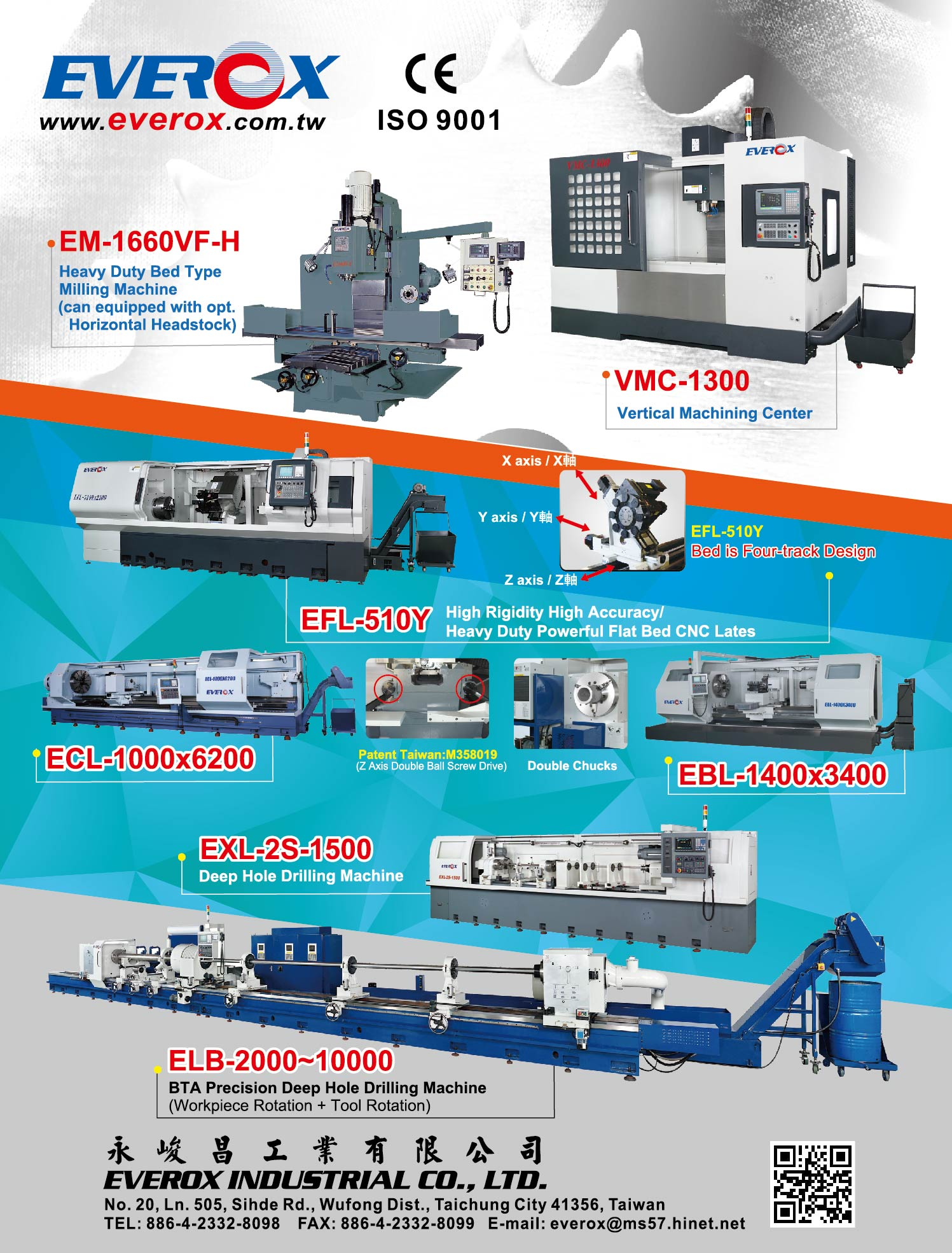 EVEROX INDUSTRIAL CO., LTD.