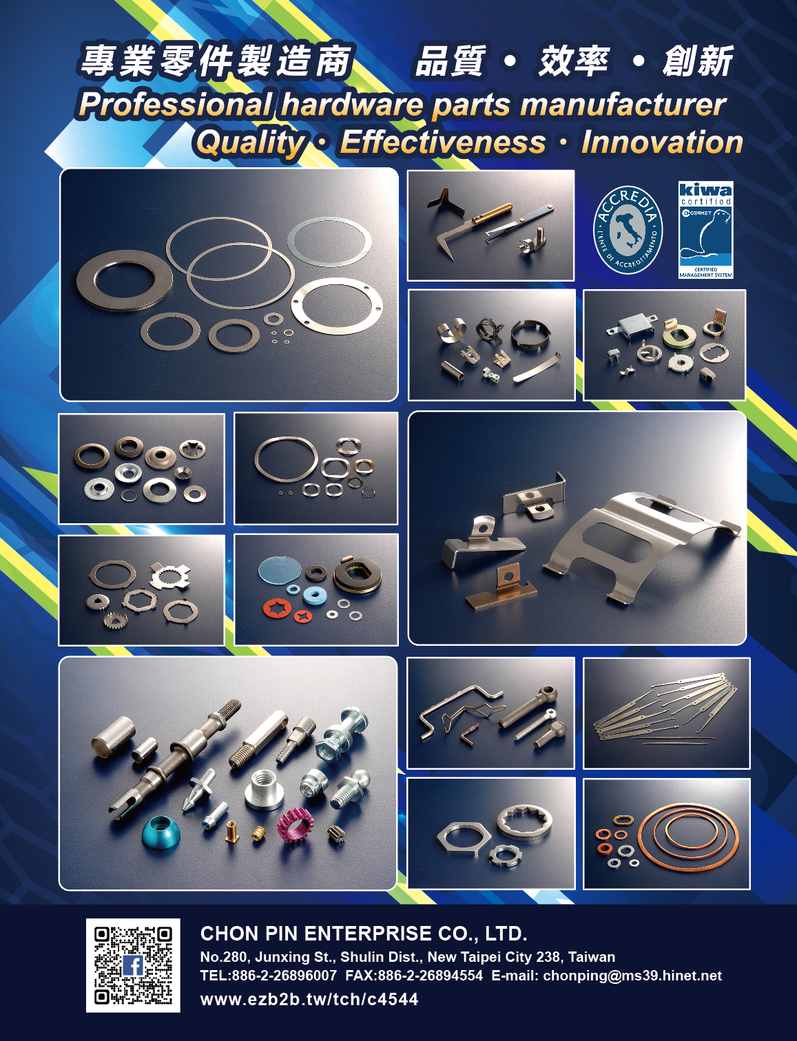 CHON PIN ENTERPRISE CO., LTD
