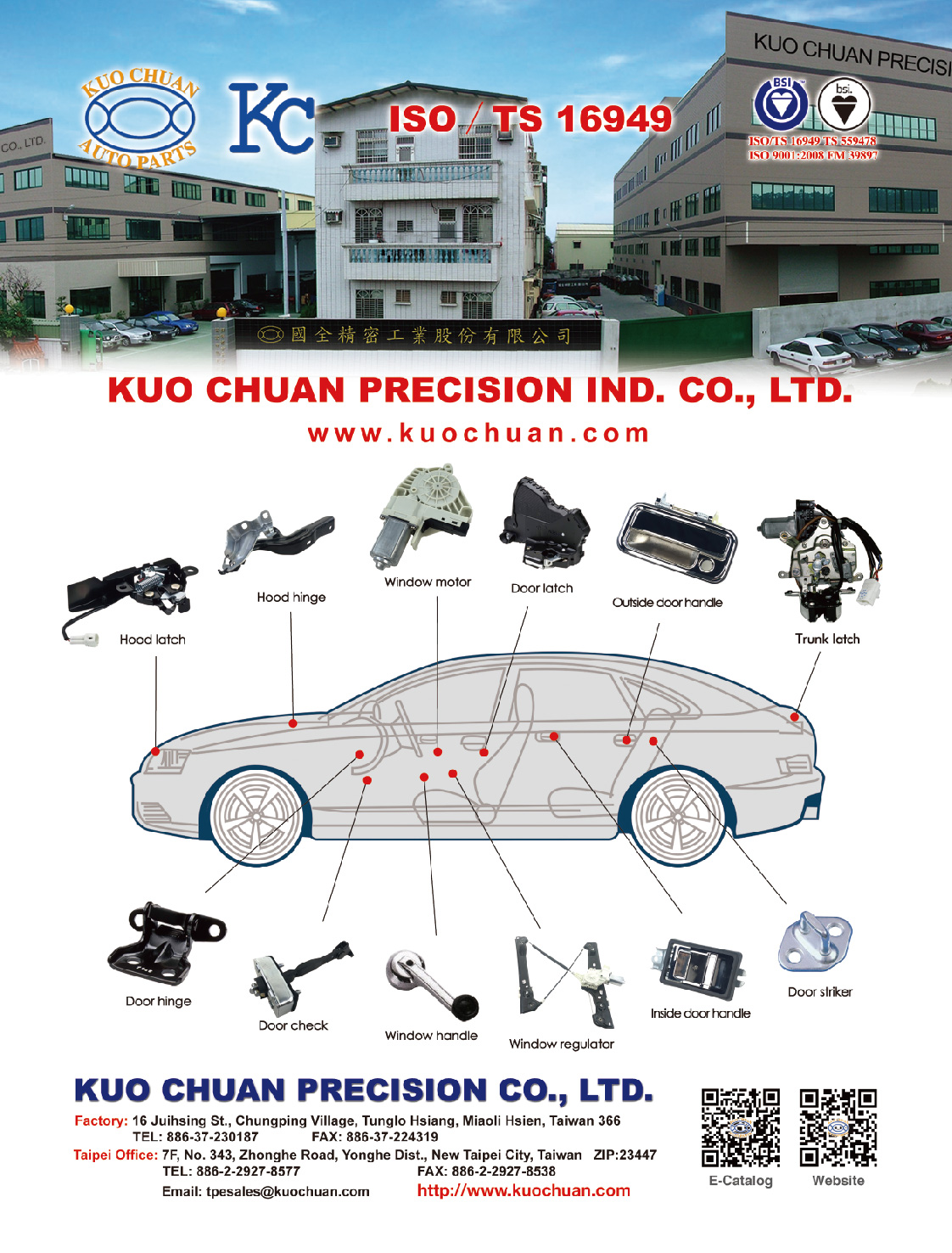 KUO CHUAN PRECISION IND. CO., LTD.
