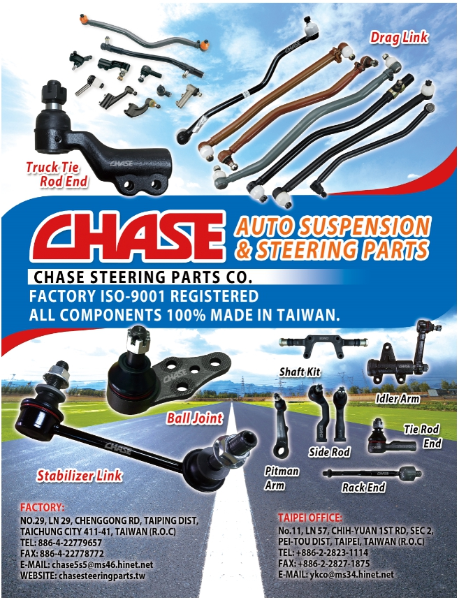 CHASE STEERING PARTS CO.