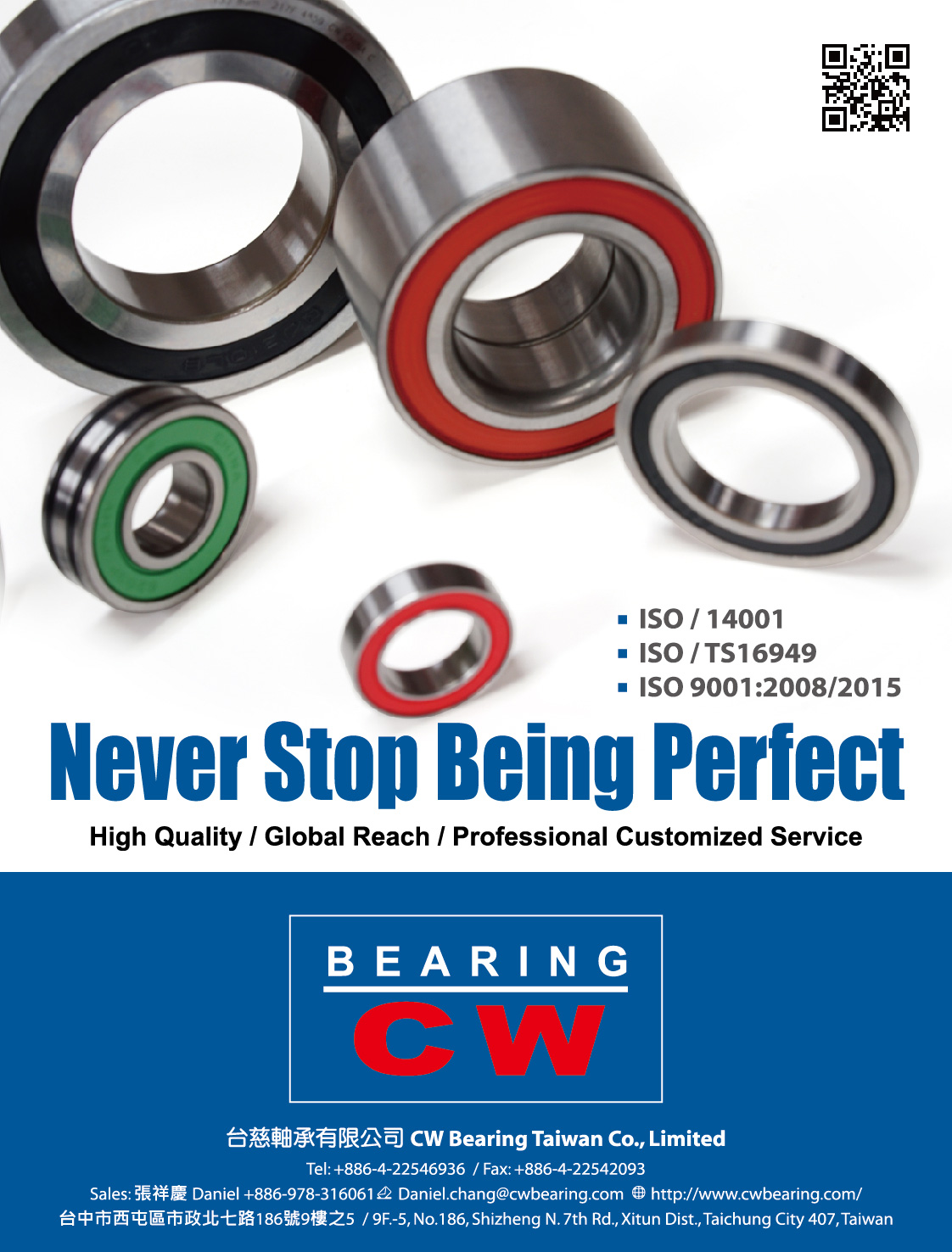 CW BEARING TAIWAN CO., LIMITED