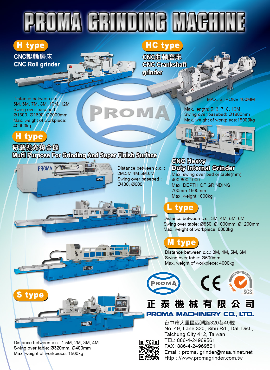 PROMA MACHINERY CO., LTD.