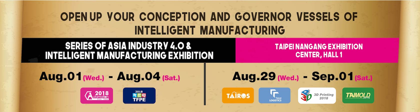 series of asia industry 4.0 & intelligent manufacturing exhibition