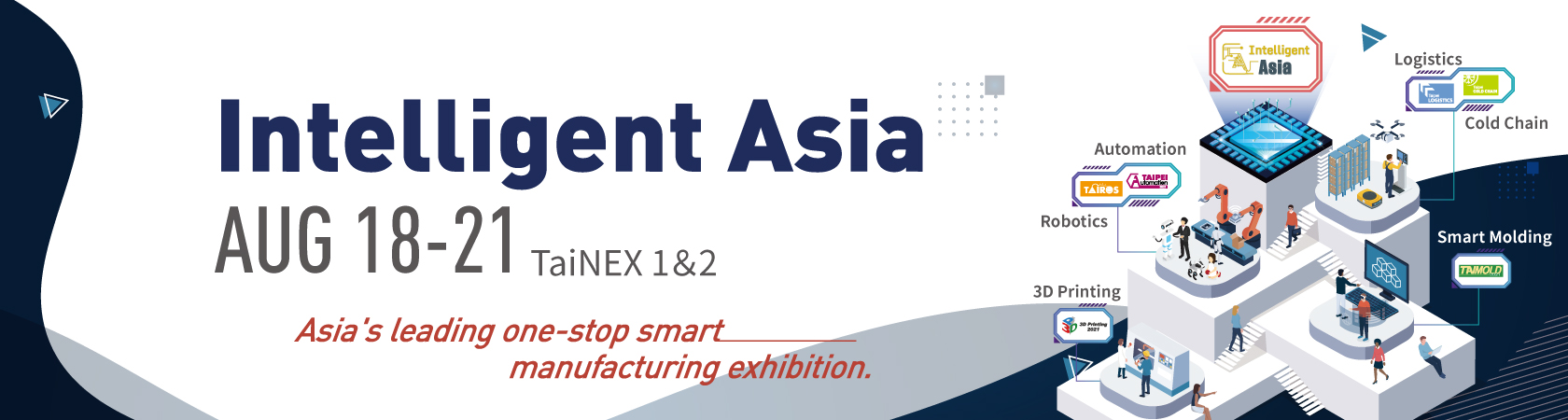 Taipei International Industrial Automation Exhibition 2021