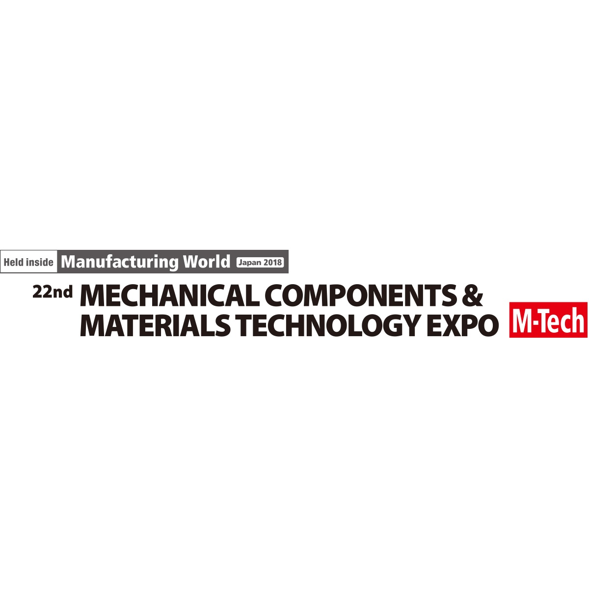2018 Mechanical Component & Materials Technology Expo