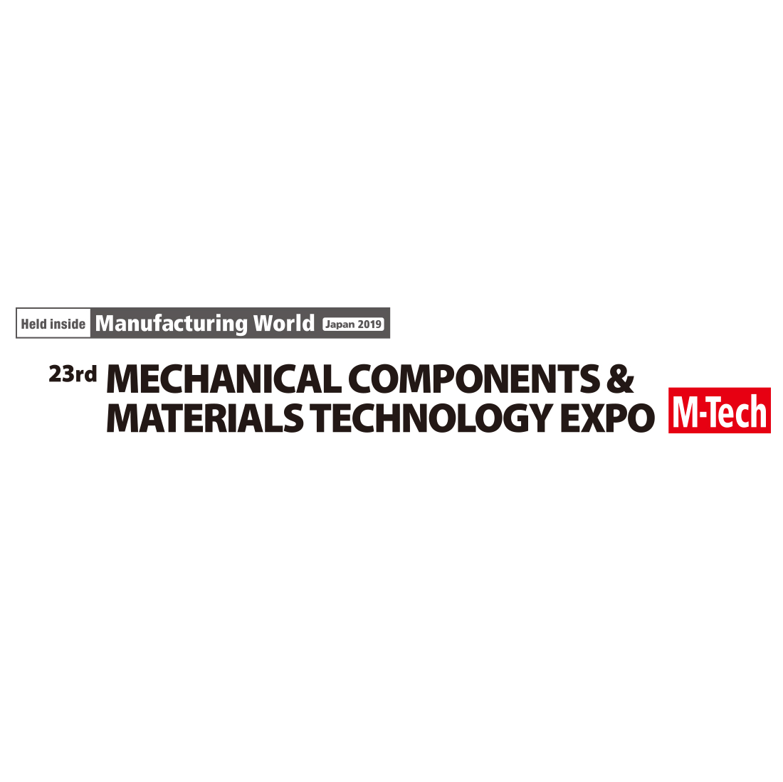 2019 Mechanical Component & Materials Technology Expo