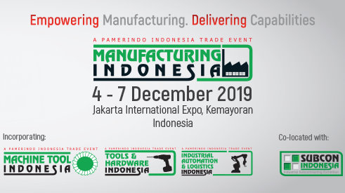 The 30th Manufacturing Indonesia 2019