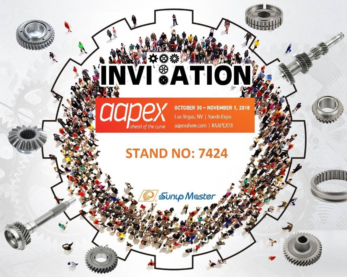 【YI-WAY】2018 AAPEX invitation