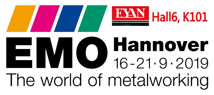 Eyan Machine Tools Co., Ltd EMO Hannover  Germany 16-21.9.2019.